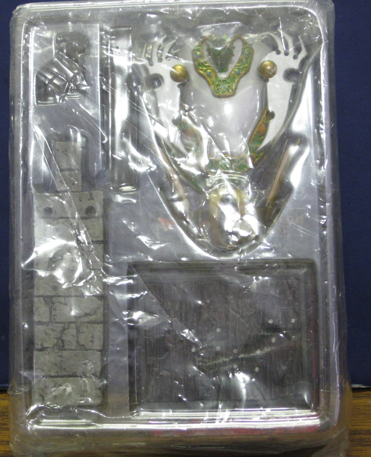 Dragon Quest Celestial Shield Helm Legend Items Gallery 2009 New Partial Package