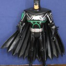 """Justice League Unlimited Animated Batman Action Figure 4 1/2"""" Black Silver Green"""