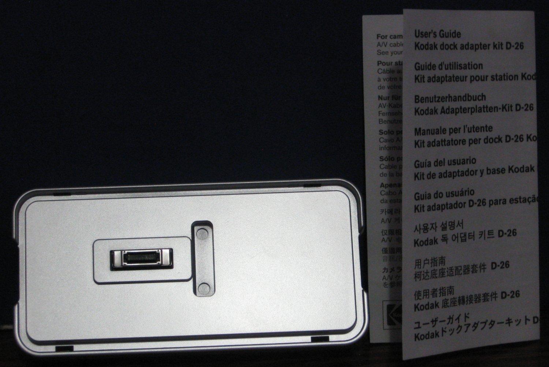 Kodak Easyshare D26 Camera Dock Series 3 Adapter for Older ES Cameras