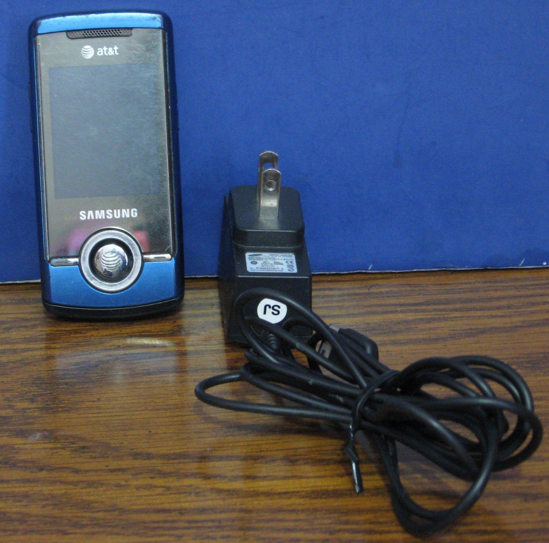 Samsung ATT Slider Phone SGH-A777 - Blue - Unactivated