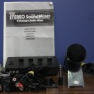 Sima Stereo Video Sound Mixer SSM-2 Bundle - With Microphone and Cables