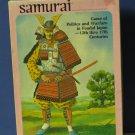 Avalon Hill 8941 Samurai Feudal Japan Bookcase Strategy Game 1980 Vintage