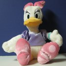 "Daisy Duck Disney Store Plush Doll - 18"" Tall / 13"" High"