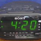 Sony Dream Machine ICF-C318 Alarm Clock AM/FM Radio - Black