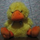 """Enormous Plush Easter Baby Duck - Yellow - MTY International - Duckling 22"""" - 42"""" Booty"""