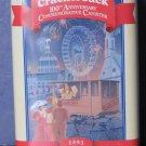 Cracker Jack 100th Anniversary Commemorative Tin Cannister - 1993 Vintage