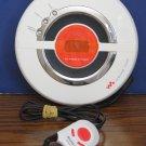 Sony Discman D-EJ100 Psyc Personal CD Walkman Player - White CD-R / CD/RW - 2003 Vintage