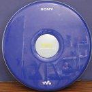 Sony Discman D-FJ040 Psyc Personal CD Walkman Player Radio Blue CD-R CD/RW - 2005 Vintage