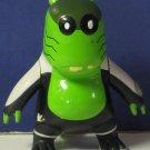 "Ben 10 Alien Upchuck 3"" Action Figure White Green Black 2006 Bandai"