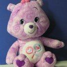 "Care Bears Tie Dye Share Bear 15"" Plush - 2007 - Play Along"