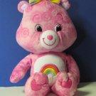 "Care Bears Tie Dye Cheer Bear 15"" Plush - 2007 - Play Along"
