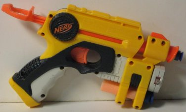 Nerf N-Strike Nite Finder EX-3 Single Shot Dart Blaster Pistol Nitefinder Yellow