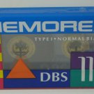 Memorex DBS110 - 110 Minute High Quality Audio Cassette Tape - New / Sealed