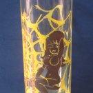Ed Hardy / Christian Audigier Spider Web Girl Drinking Glass - Design 2 of 3