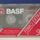 Audio Cassette Tape BASF Ferro Extra I 90 Minute - New