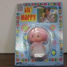 Lil Moppy Mini Pink Haired Doll - Ja-Ru - 1980s Vintage - 3 Inches Tall - MoC
