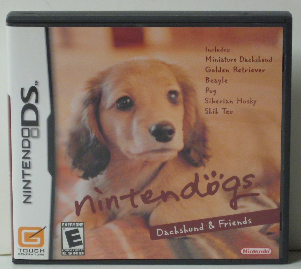 Nintendo DS Nintendogs: Dachshund and Friends - 2005