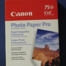 """Canon Photo Paper Pro 4"""" x 6"""" - 75 Sheets Pack - New and Sealed"""