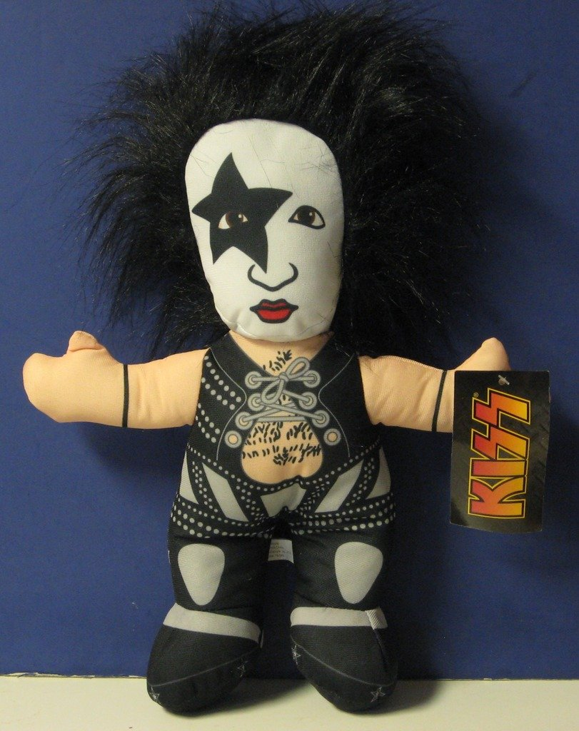 """KISS Paul Stanley Plush Prize Redemption Doll - 13"""" Toy Factory 2014"""