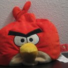 "Angry Birds 12"" Plush Beanbag Pillow Red Bird - Jay Franco and Sons - Bean Bag"