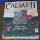 Caesar II City / Empire Builder Sierra  1995 PC Windows 95 / DOS Game - New
