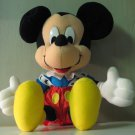 "Disney Mickey Mouse 13"" Plush - Arcotoys / Mattel"