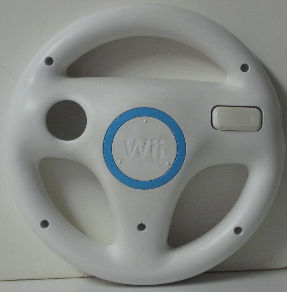 Nintendo Wii Steering Wheel Shell for Mario Kart and Other Racing Games