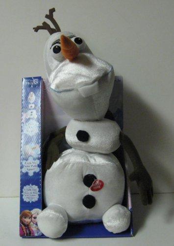 Disney Frozen Pull Apart Talkin' Olaf Snowman New In Package - Talking
