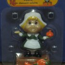 Solar Dancing Pilgrim Girl Thanksgiving Light Activated Decoration - New