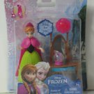Disney Frozen Anna of Arendelle Magiclip Doll / Figure w Table and Wearable Ring