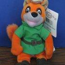 "Disney Store Parks Robin Hood 8"" Mini Bean Bag Plush Fox - Beanbag"