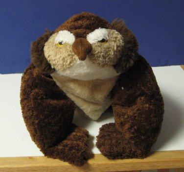 "Flip Flops Extremely Relaxed Animals Floppy Plush Owl - 17"" - 2002"