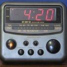 Soundesign GWA 3654 MCL AM FM Radio Alarm Clock Gentle Wake System - Black