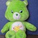 "Care Bears Oopsy Bear 14"" Plush - 2007 - Play Along - Needs Mending"