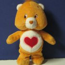 "Care Bears Tenderheart Bear 8"" Plush - 2002"