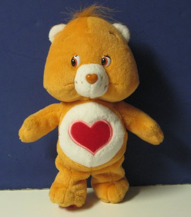 """Care Bears Tenderheart Bear 8"""" Plush - 2002"""