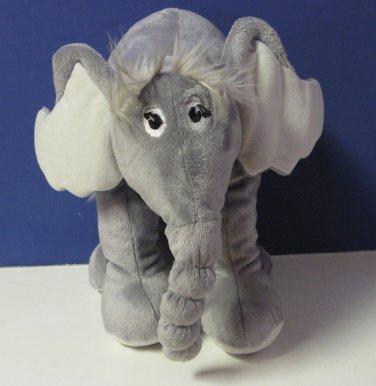 "Horton Hears a Who / Hatches an Egg Plush Elephant - 9"" - Dr. Seuss 2007"
