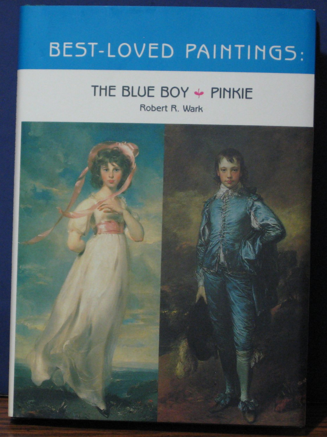 Huntington Gallery / Library Best Loved Paintings Book - Blue Boy and Pinkie