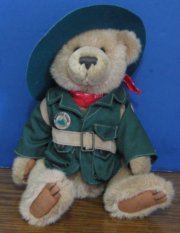 """Ranger Rex Jointed Talking Plush Bear - 11"""" - Ranger Rex's Forest Friends"""