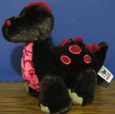 "Webkinz Cocoa the Dinosaur HM338 - No Code - Ganz 9"" Plush"