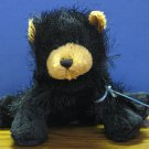 Webkinz Plush Black Bear - HM004 - Ganz - New With Tags and Code