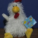 Webkinz Plush Chicken - HS205 - Ganz - New With Tags and Code