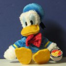 "Disney World Plush Donald Duck Extra Fluffy 10"" Plush Disneyland With Tags"