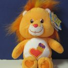 "Care Bear Cousins Collector's Edition Series 2 Brave Heart Lion 10"" Plush"