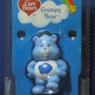 "Care Bears 20th Anniversary Grumpy Bear 2 1/2"" PVC Figure - 2002 - New"