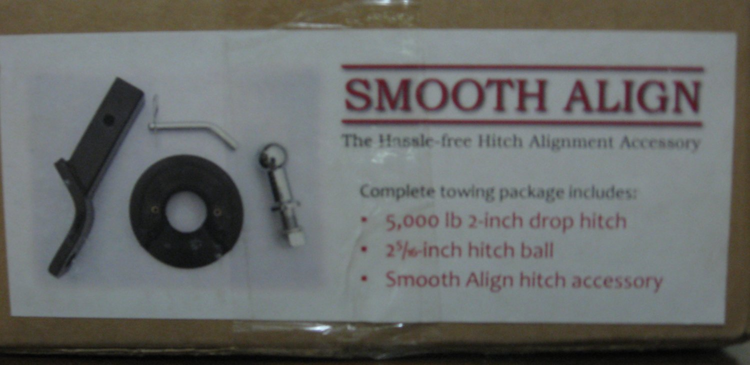 "Smooth Align Trailer Hitch Set - 2 5/16"" Ball 5000 Pound 2 - Drop Hitch"