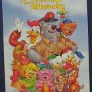 Disney Afternoon Unused Postcard - DuckTales TaleSpin Gummi Bears Chip n Dale