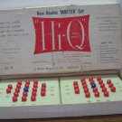 Hi-Q Peg Game Double Master Set 1954 Vintage Tryne Products - Incomplete Set