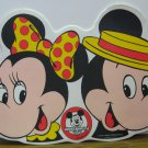 Mickey Mouse Club Vinyl Place Mat 1960s Vintage - Minnie / Mickey - Placemat