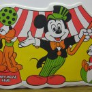 Mickey Mouse Club Vinyl Place Mat 1960s Vintage - Pluto / Mickey Nephew Placemat